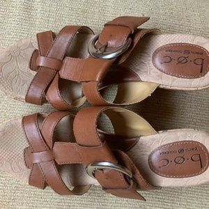 BOC Cork Wedges, Size 7